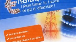 ENERGIE MOINS CHERE  : «CHOISIR ENSEMBLE . fr» jusqu'au 21 septembre 2016.